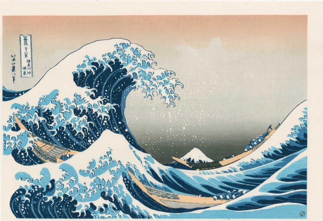 Hokusai: Under the Wave Off Kanagawa, 1830