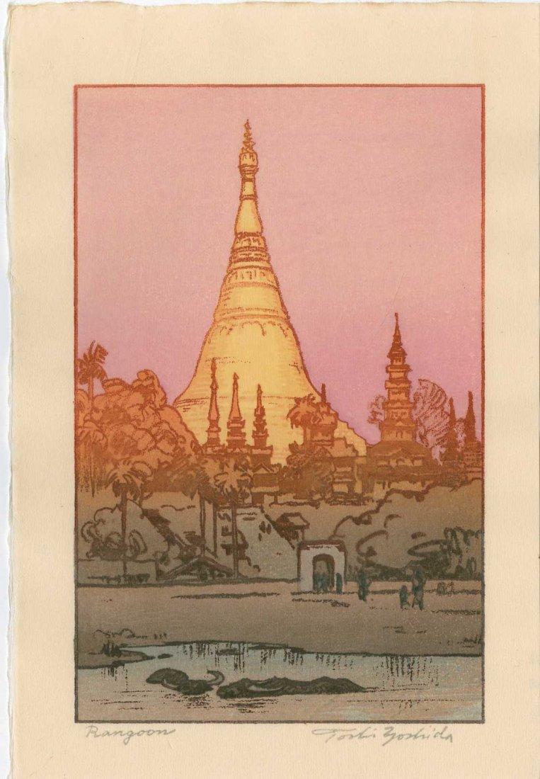 Toshi Yoshida: Rangoon, 1984