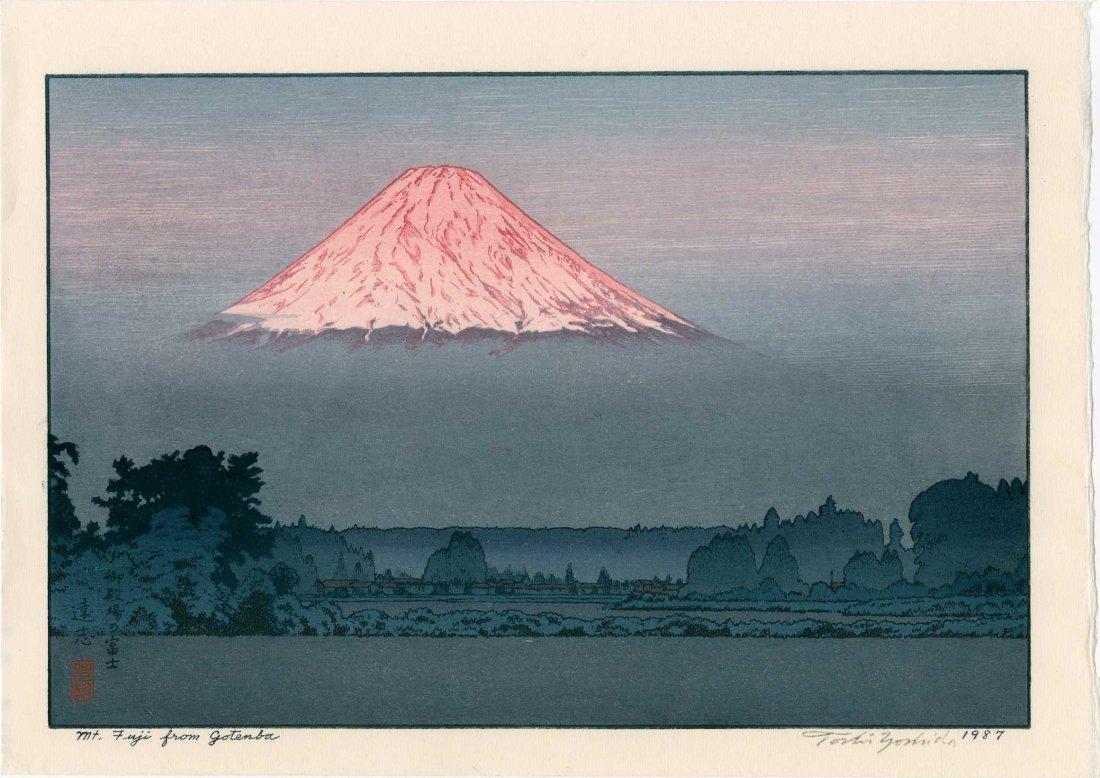 Toshi Yoshida: Mt. Fuji From Gotemba, 1987