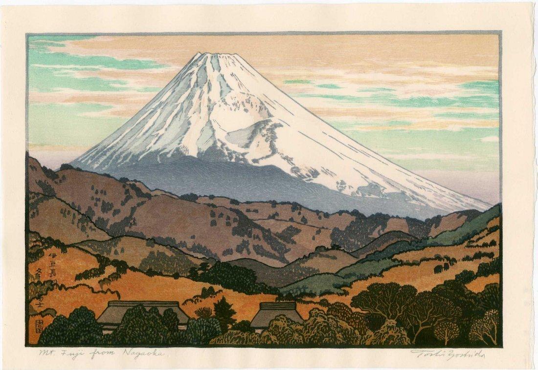 Toshi Yoshida: Mt. Fuji From Nagaoka, 1962