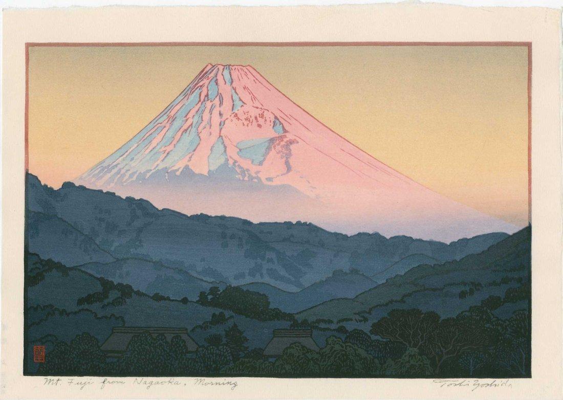 Toshi Yoshida: Mt. Fuji From Nagoka, Morning 1962