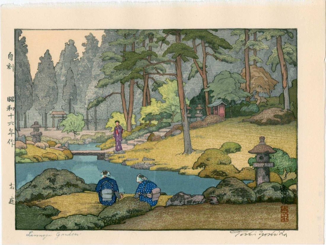 Toshi Yoshida: Linnoji Garden, 1941