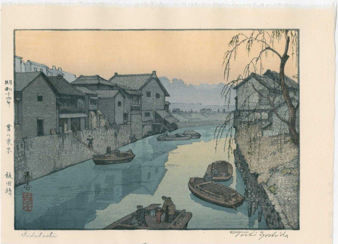 Toshi Yoshida: Iidabashi, 1939