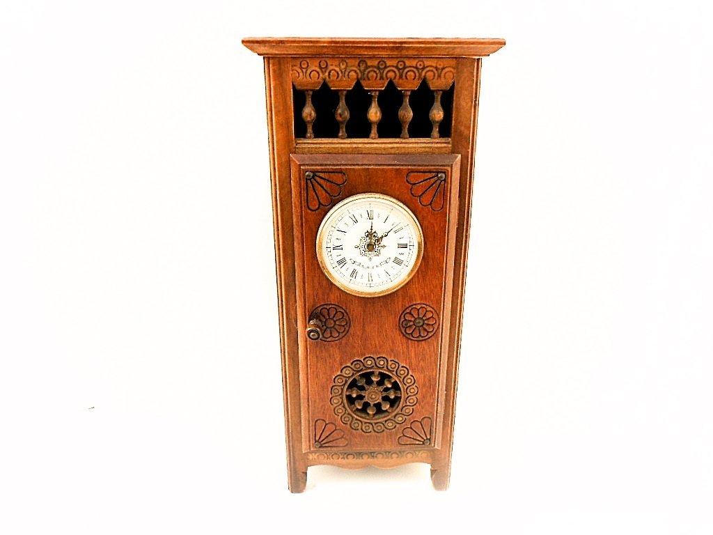 French Neo Breton Miniature Clock