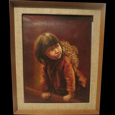 Peter Tang: Childs Oil Portrait