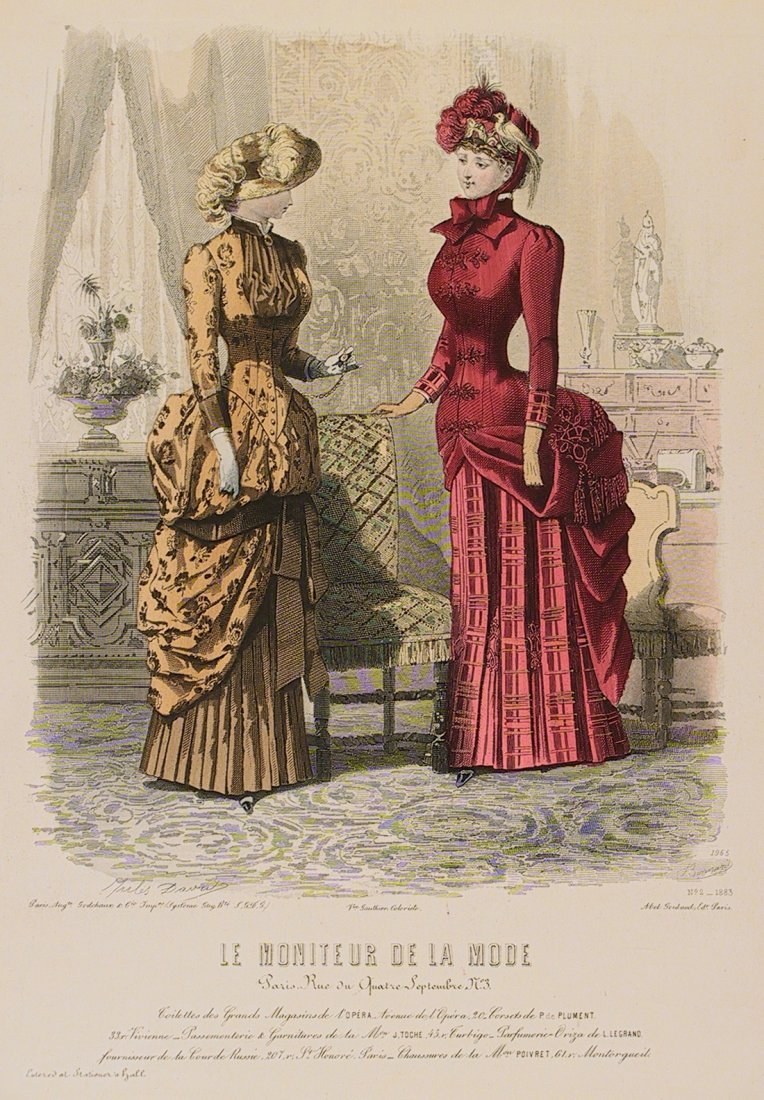 Le Moniteur de la Mode. No. 2, 1883