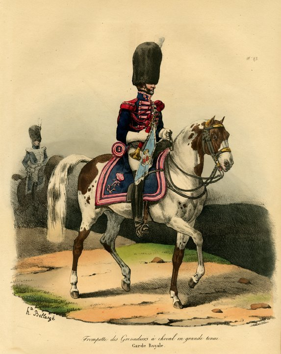 Hippolyte Bellange: Trompete des Grenadines, 1826