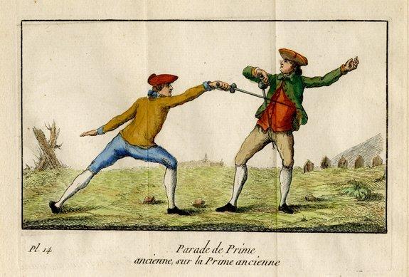 M. Danet: Parade de Prime Ancienne, 1766