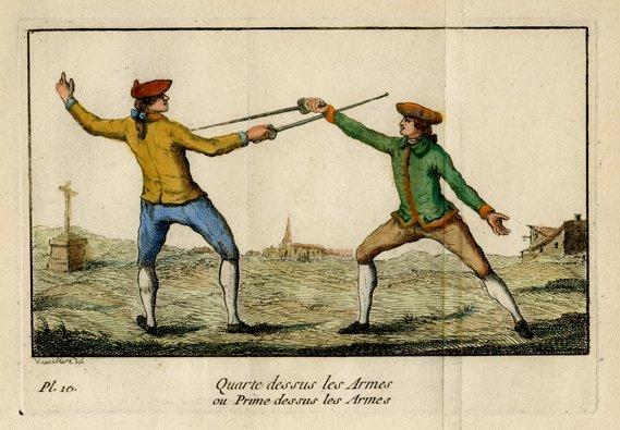 M. Danet: Quarte Dessus les Armes...,1766