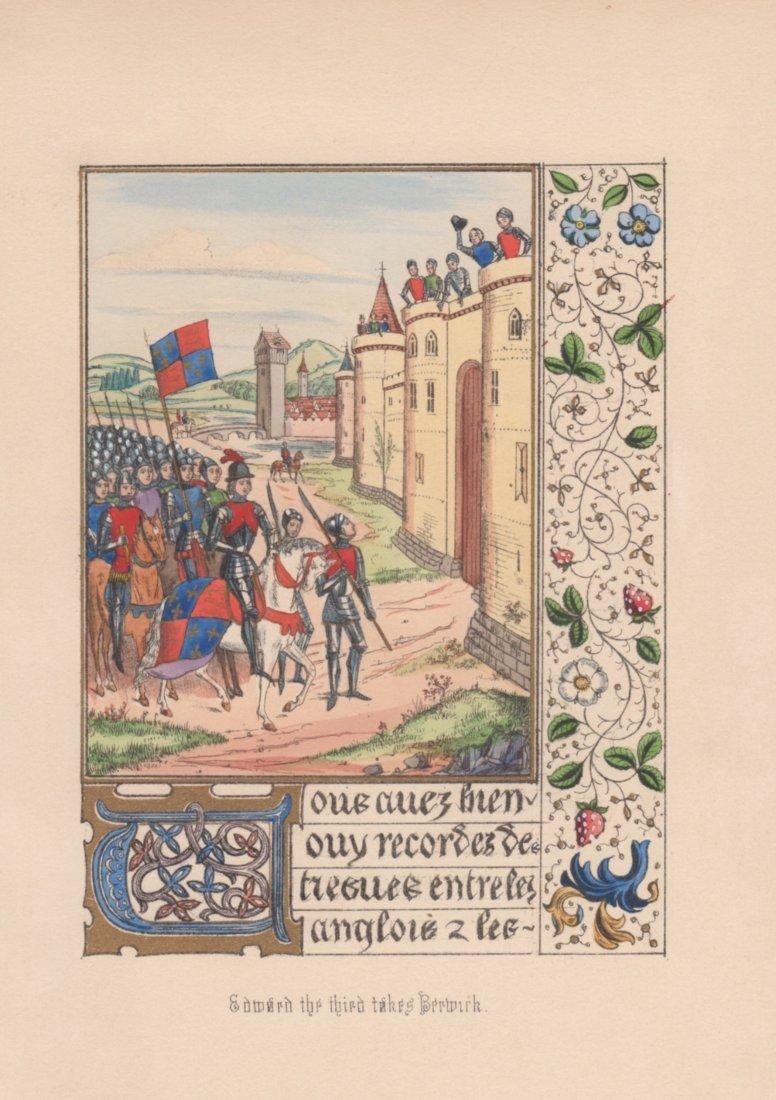 Sir John Froissart: Edward the Third Takes Berwick