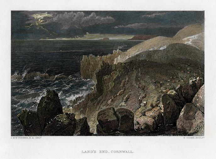 J.M.W. Turner: Land's End, Cornwall, 1859
