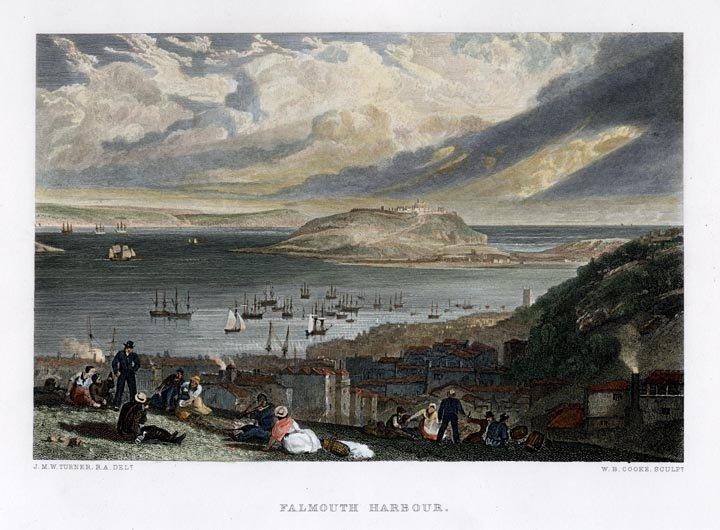 J.M.W. Turner: Falmouth Harbour, 1859