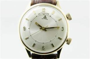 LeCoultre Gold Memovox Alarm Watch, 1960