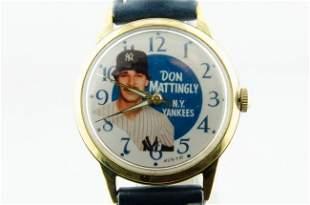 Don Mattingly Yankees Watch, 1987