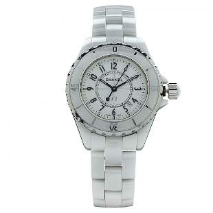 Chanel Stainless Steel Ceramic Case Automatic Watch