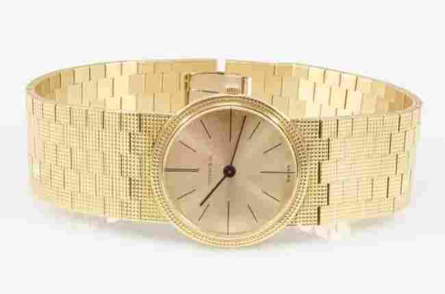 Rare Piaget / Tiffany & Co 18K Gold Watch