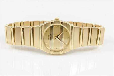 Piaget 18K Gold Polo Watch