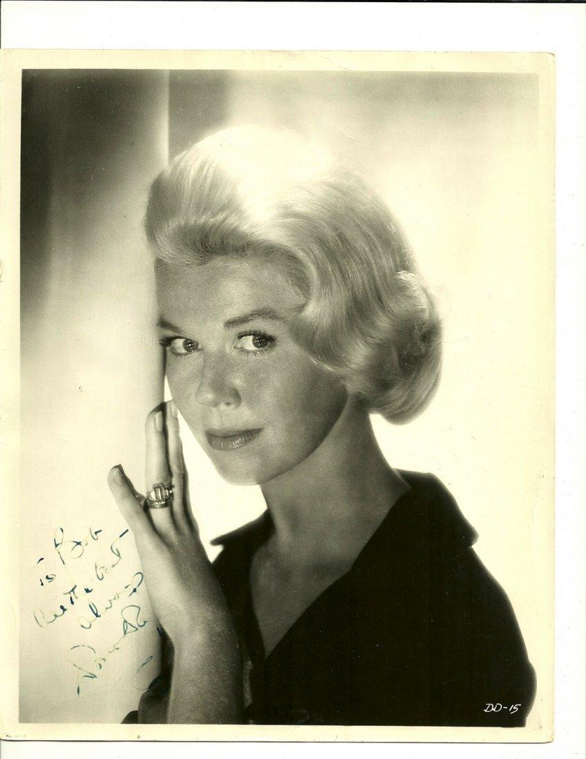 Doris Day Poster, Signed
