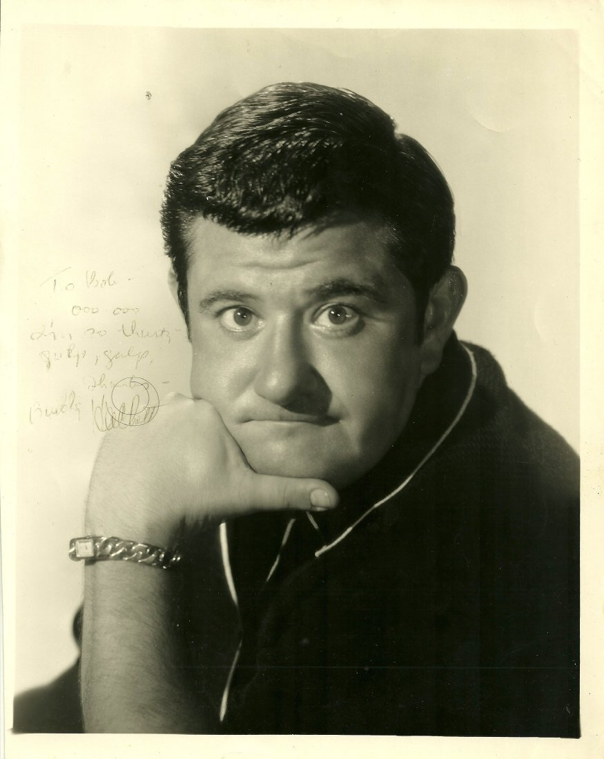 Buddy Hacket Poster, Signed