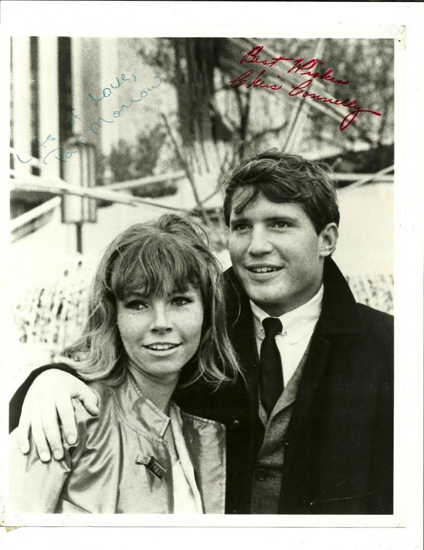 Chris Connelly & Patricia Morrow Poster, Signed
