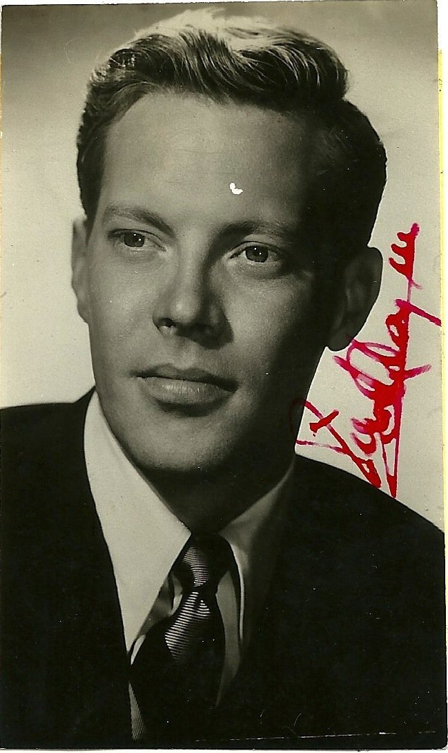 Dick Haynes Poster Card, Signed