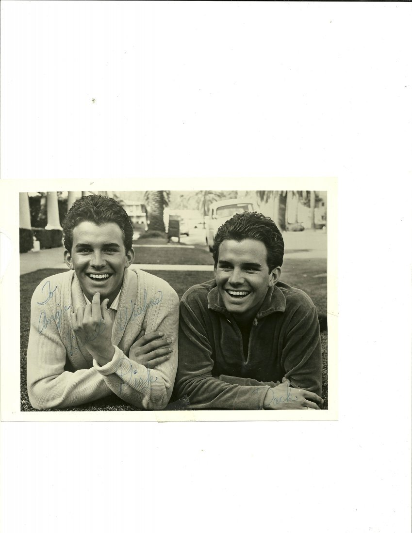 Dirk & Dack Rambo Poster Card, Signed