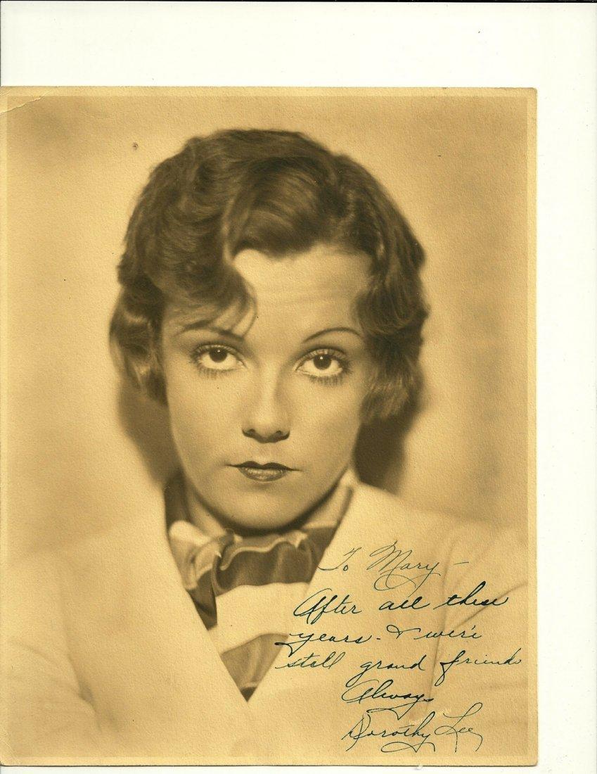 Dorothy Lee Poster, Signed
