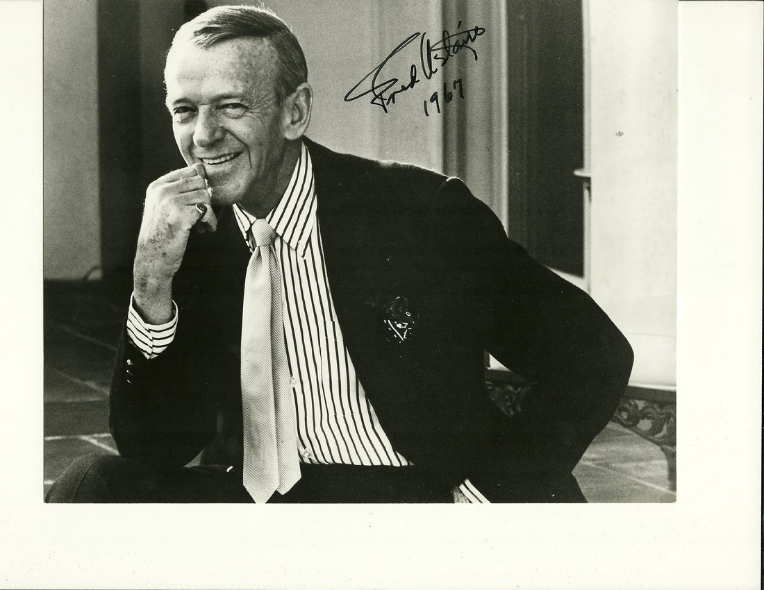 Fred Astaire Poster, Signed