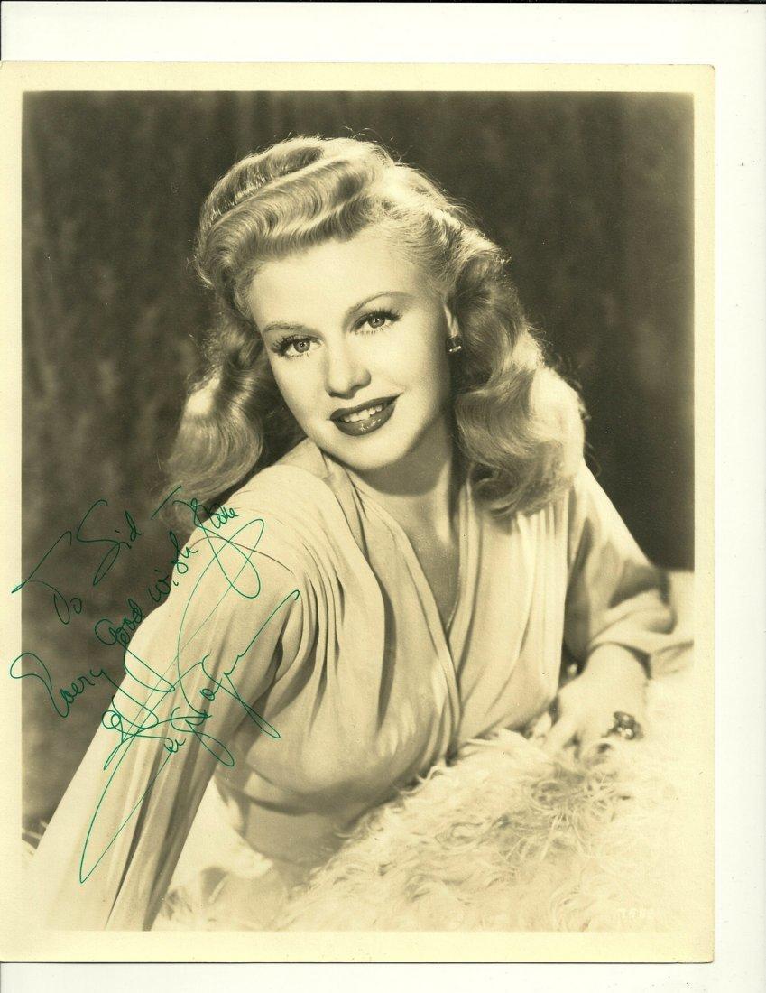 Ginger Rogers Poser