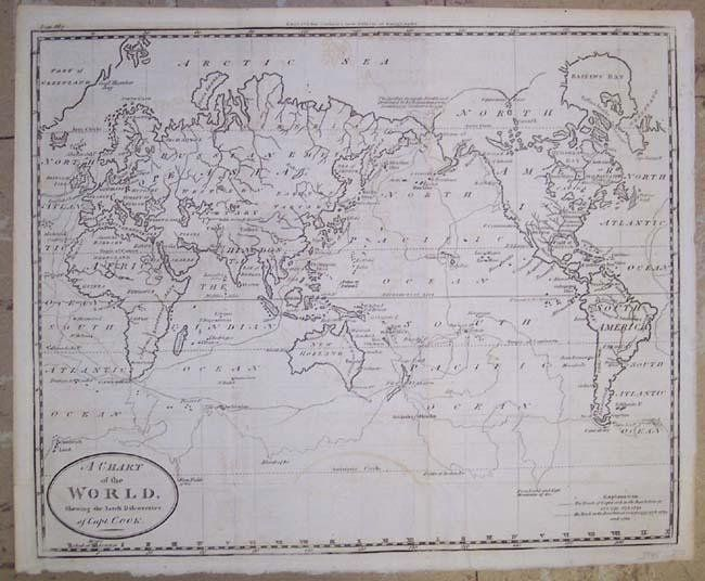 Carey: A Chart of the World, 1811