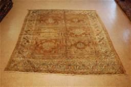 Antique Turkish Ushak Rug 5.5x6
