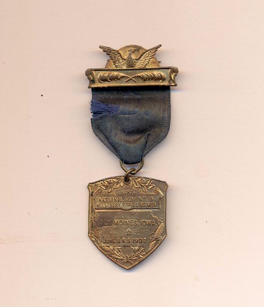 Labor Badge Ribbon, 1907