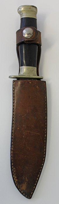 WWII Handmade Fighting Knife Named to Howard B. Sprague