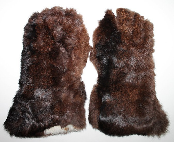 WWII Japanese Pilot Gloves in Fur