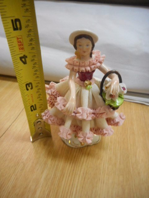 Made in Western Germany Dresden Style Figurine