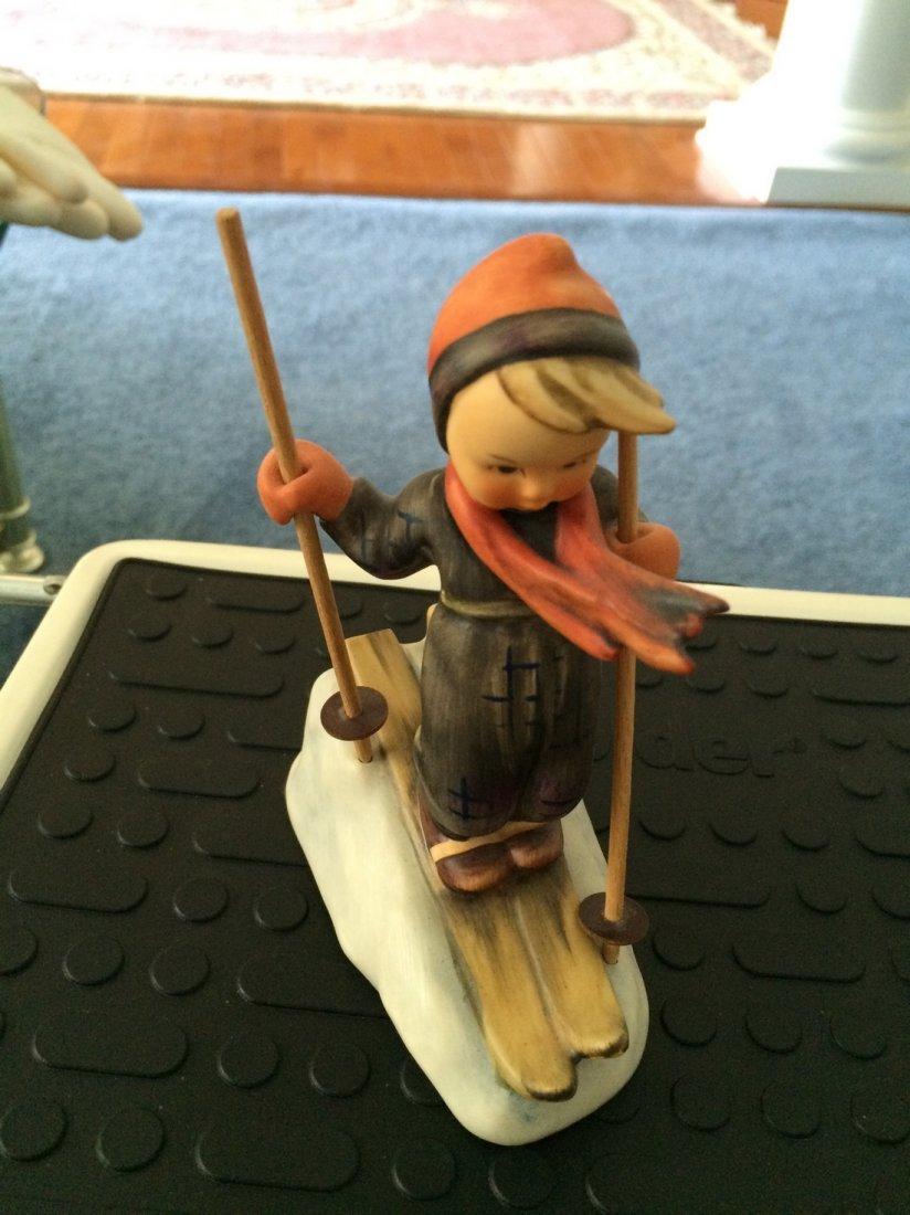 Hummel Figurine: Skier