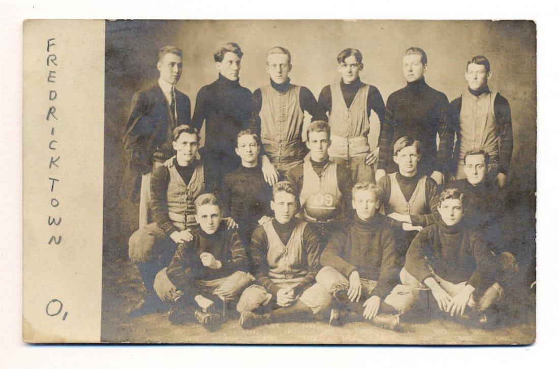 Photograph Postcard of Football Team, 1909