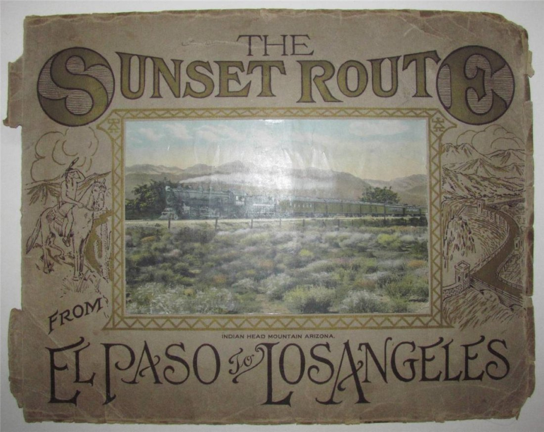 Souvenir Picture Album, Scenic Arizona, 1900