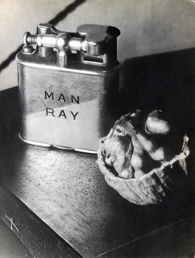 Man Ray: Lighter with Walnut