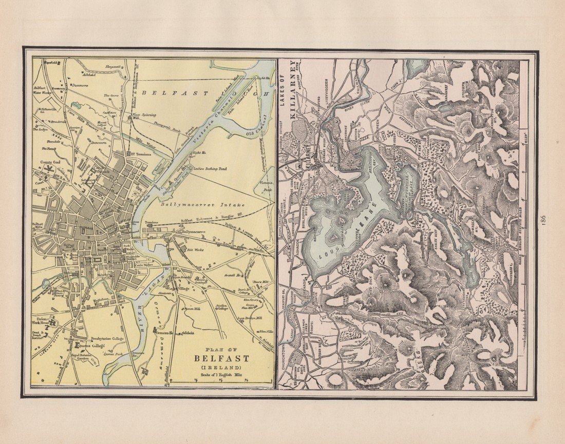 George Cram: Plan of Belfast 1891