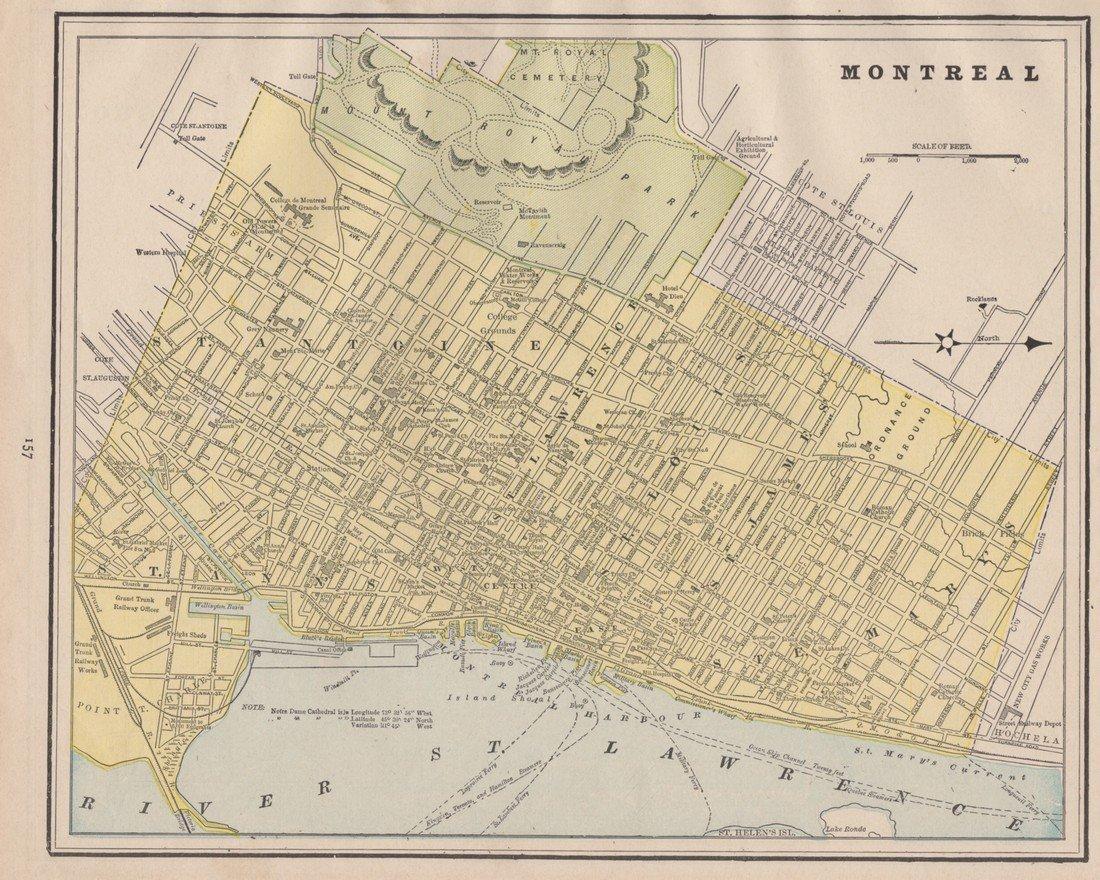 George Cram: Montreal 1891