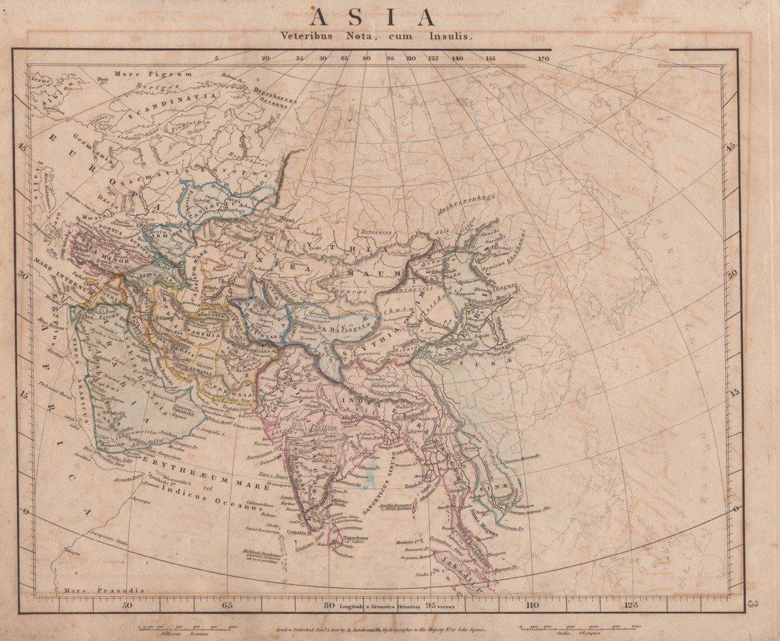 A. Arrowsmith: Asia 1828