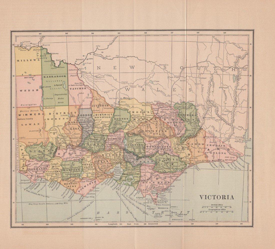 Collier: Victoria 1886