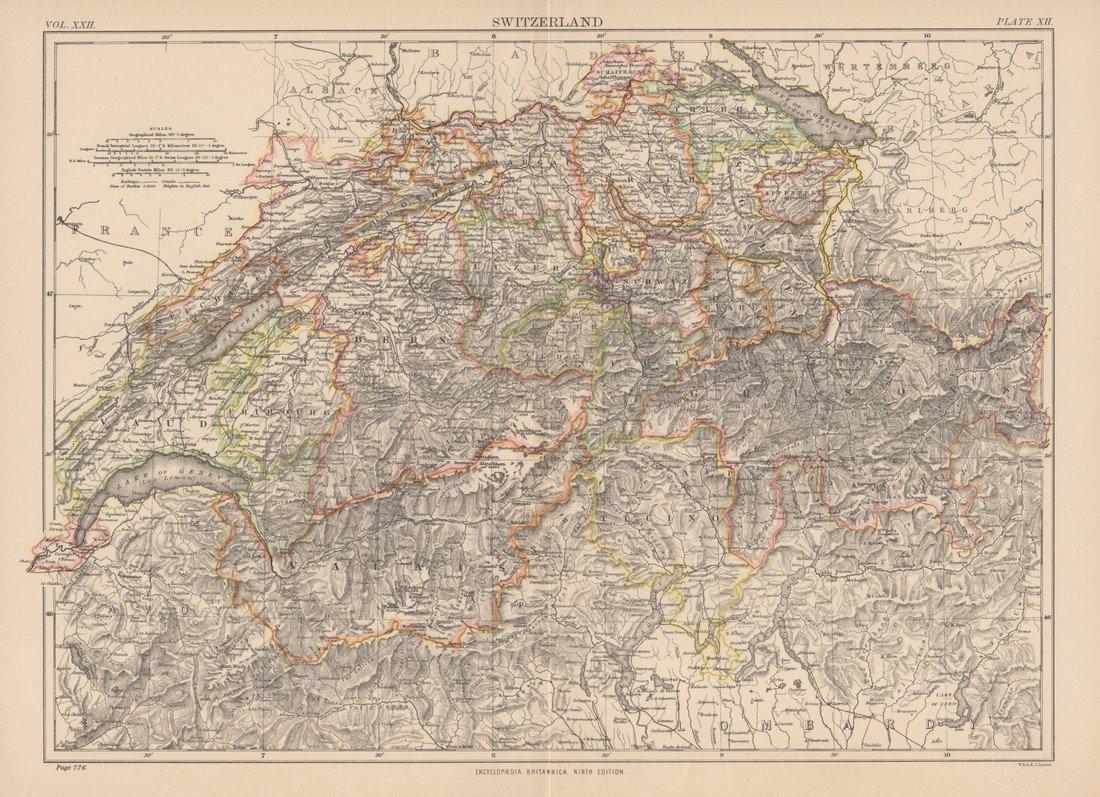 Charles Scribner's Sons: Switzerland 1891