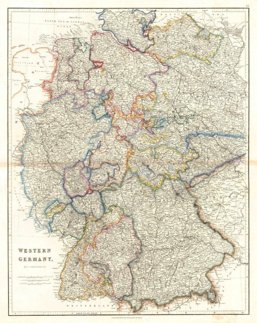 Western Germany, 1842