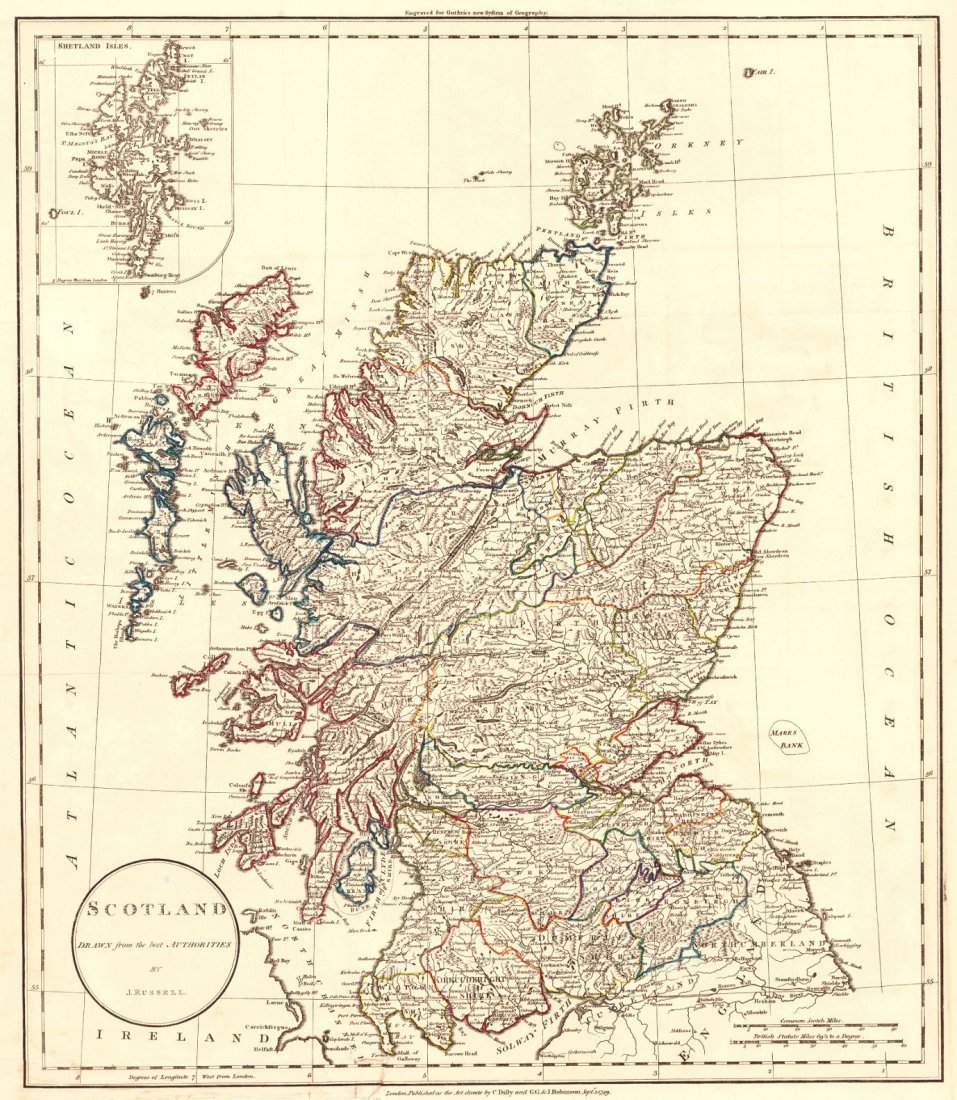 Scotland Drawn from the Best Authorities 1779
