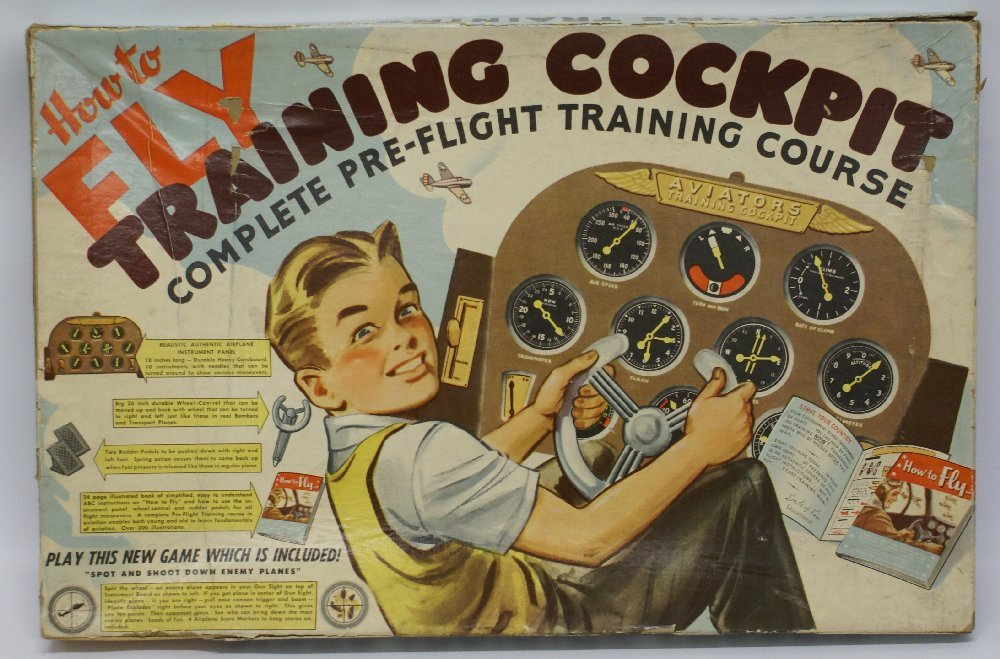 How to Fly Training Cockpit Pre-Flight Course Game