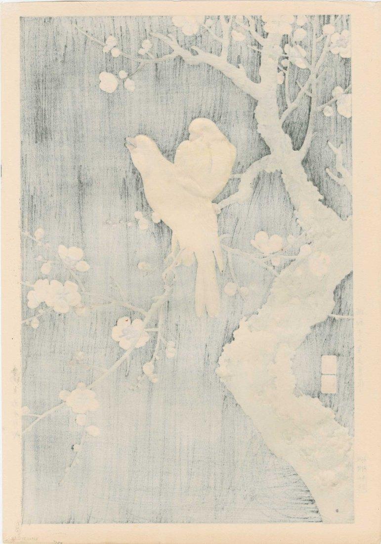 Hodo Nishimura - Two Canaries at Night 1938 - 2