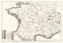 Ghisi Map of Ancient Spain in Roman Times 1774