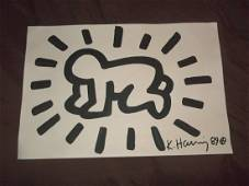Keith Haring: Radiant Baby, 1989